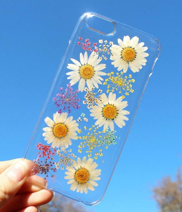 آي فون وغالكسي تتزين بزهور12