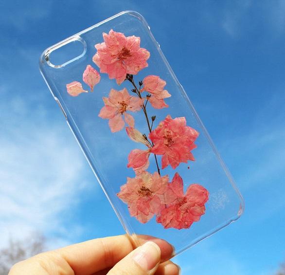 آي فون وغالكسي تتزين بزهور5