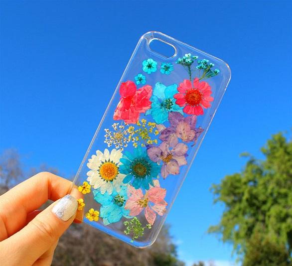 آي فون وغالكسي تتزين بزهور6