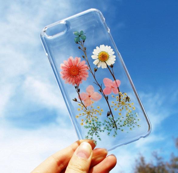 آي فون وغالكسي تتزين بزهور9