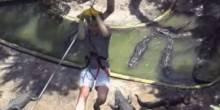 شاهد بالفيديو أخطر مغامرة سياحية في العالم