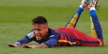 الإصابة تبعد نيمار دا سيلفا عن برشلونة في مباراة بوروسيا مونشنجلادباخ