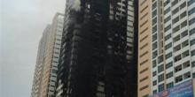 """حريق """"عجمان 1"""" يسفر عن 3 إصابات بسيطة"""