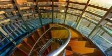 شاهد بالصور السلم الحلزوني الجديد في برج خليفة