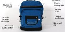 ابتكار حقيبة للأطفال المصابين بالتوحد
