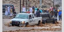12 حادث مروري ووفاة شخص في رأس الخيمة نتيجة تقلبات الطقس