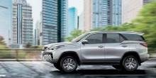 سيارات تويوتا فورتشنر 2016 رباعية الدفع في أسواق الإمارات