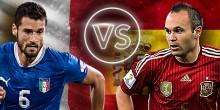 اليوم .. ايطاليا واسبانيا في تكرار لنهائي يورو 2012