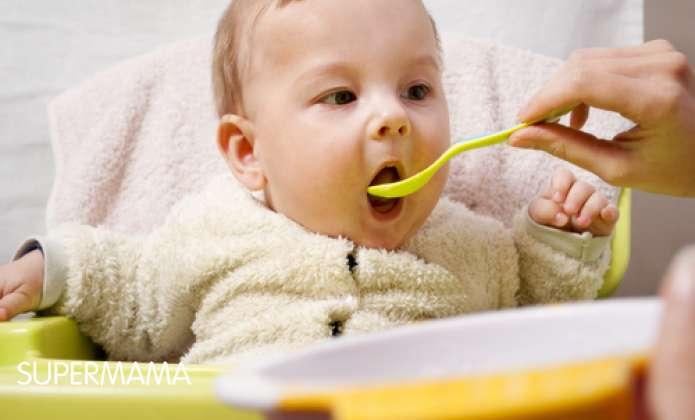 أكلات-شديدة-الملوحة-والحلاوة-على-الرضع