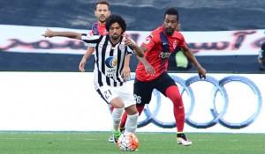 الجزيرة والأهلي دوري 22 2016