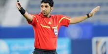 الحكم محمد عبدالله يقاتل للتحكيم في كأس العالم
