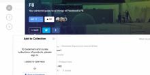 فيس بوك تتيح أداة جديدة لحفظ المواقع