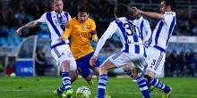 بالفيديو والصور: برشلونة يواصل التراجع ويسقط امام ريال سوسيداد
