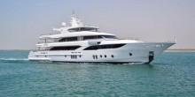 شاهد بالصور أفخم يخت في دبي بسعر 88 مليون درهم