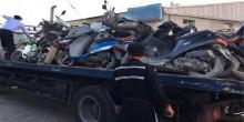 شرطة الشارقة تضبط 186 دراجة نارية مخالفة خلال أسبوع