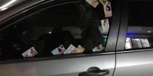 بطاقات إعلانية خادشة للحياء على المركبات و شرطة دبي تتخذ إجراءات صارمة
