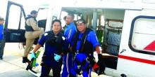 إنقاذ بحار إندونيسي في عرض البحر إثر إصابته بأزمة قلبية