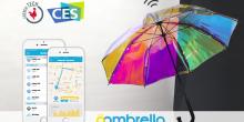 Oombrella: مظلة ذكية تخبرك بهطول المطر قبل ربع ساعة