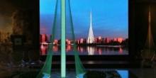 دبي تفتتح ثاني أعلى ناطحة سحاب في العالم بحلول 2020