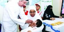 توفير لقاح شلل ثنائي للأطفال ابتداءً من يوم الأحد المقبل