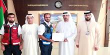مسعف يتمكن من إنقاذ رضيع كاد أن يموت في دبي