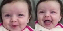شاهد بالفيديو كيف تتكلم هذه الرضيعة وعمرها 10 أسابيع فقط