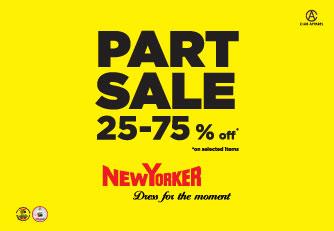 تخفيضات حتى 75 % من NEW YORKER