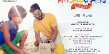 فن النحت بالرمل Art Sand Crafts للأطفال