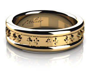 fleur-de-lis-wedding-ring
