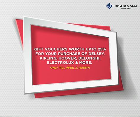 عروض Jashanmal تصل إلى حدود 25%