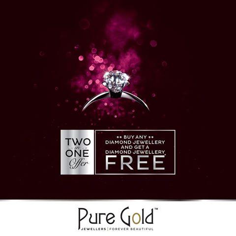 تخفيضات رائعة ومغرية على مجوهرات Pure Gold Jewellers  حتى نهاية أبريل 2016
