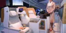"""بالفيديو: """"طيران الإمارات"""" تكشف عن مقاعد درجة رجال الأعمال الجديدة"""
