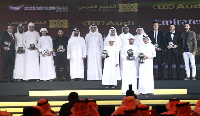 الفائزين بجوائز دوري الخليج العربي 2015 - 2016