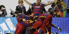 بالفيديو والصور: برشلونة بطل كأس ملك إسبانيا بفوز على إشبيلية