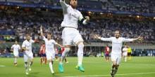 بالفيديو والصور: ريال مدريد ينهي الشوط الأول بهدف على الأتلتيكو في أبطال اوروبا