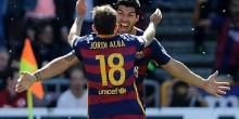 بالفيديو والصور: رسميا برشلونة بطل الدوري بفوز على غرناطة وسواريز الهداف