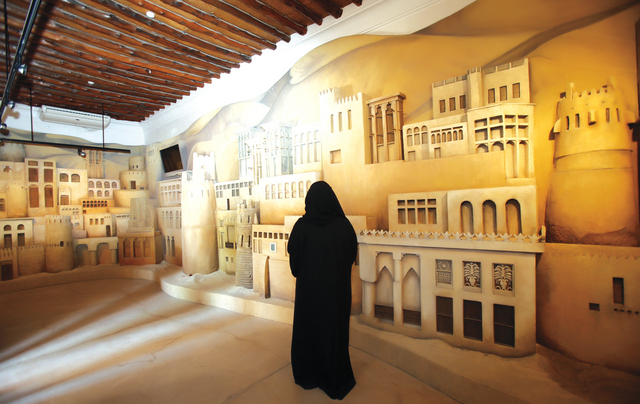Museums of horse camel and architecture at the house of Sheikh Saeed Ak Maktoum in Shindagha in Dubai. June 02, 2014. Photo by Xavier Wilson ????? ????? ?????? ??????? ????????? ?? ??? ????? ???? ?? ????? ?? ??????? ??? ??????? ???????? ?? ???. 2 ????? 2014. ????? ??????? ??????