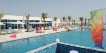 افتتاح منتجع جزيرة السعادة في أبوظبي بالفيديو