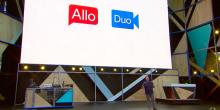 غوغل تكشف عن تطبيق التراسل الفوري Allo وتطبيق التراسل المرئي Duo