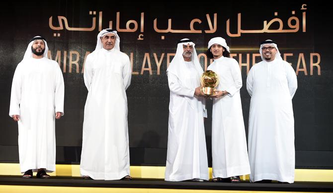 عمر عبد الرحمن أفضل لاعب