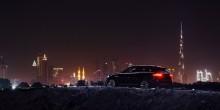 شركة جاغوار تحتفل بسيارتها الجديدة من خلال عرضٍ مبهر على برج خليفة