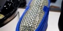 حذاء من الذهب بسعر 18 ألف يورو بدبي