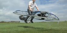 سباك سابق يصنع أول دراجة طائرة ويطير بها