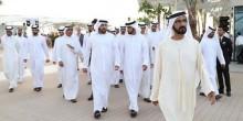 سمو الشيخ محمد بن راشد يدشن الجزيرة الصناعية