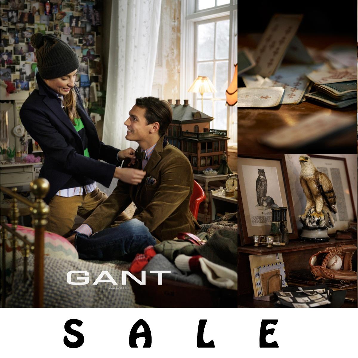 تخفيضات إلى حدود 50% من Gant حتى 20 مايو 2016