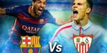اليوم .. مواجهة نارية بين برشلونة وإشبيلية في نهائي كأس إسبانيا