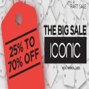 تخفيضات حتى 70% من Iconic على منتجات محدودة وحتى 20 مايو 2016
