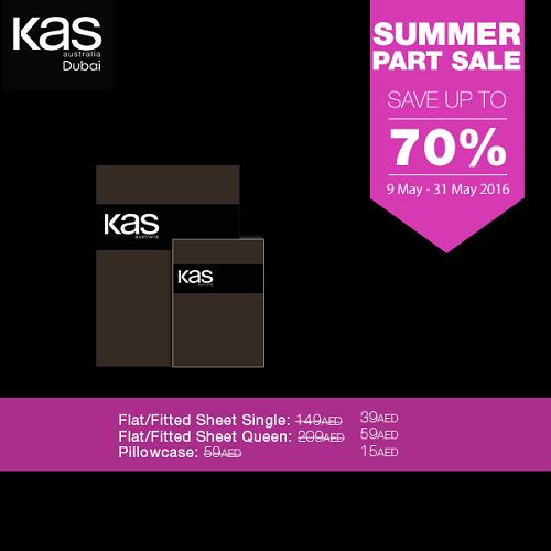 تخفيضات حتى 70 % على المفروشات المنزلية الفاخرة من KAS Australia