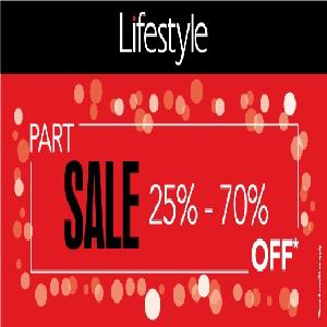 تخفيضات إلى حدود 70% من Lifestyle حتى 28 مايو 2016