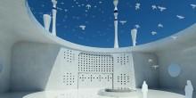 المسجد العائم عنوان آخر للإستثنائية والتفرد في دبي